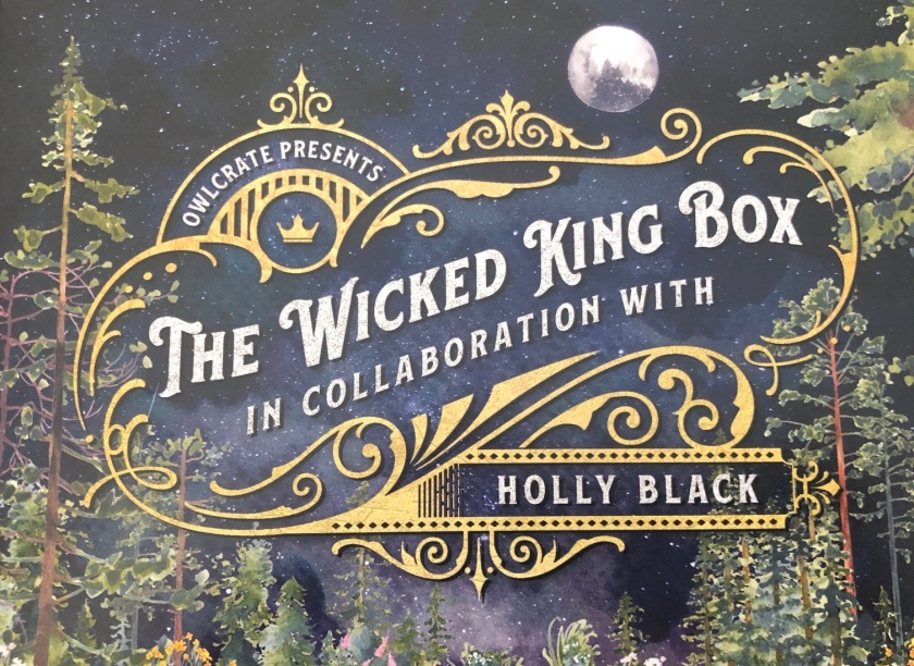 Owlcrate Wicked King Box Perfectly Tolerable