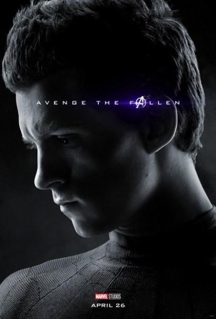 avengers-endgame-avenge-the-fallen-poster-spider-man