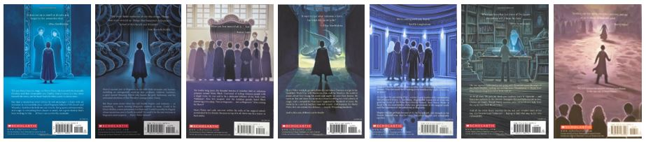 Harry Potter 2013 Special Edition Back Covers