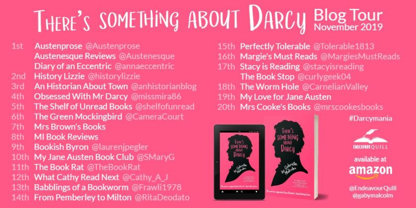 Darcy Blog Tour Schedule